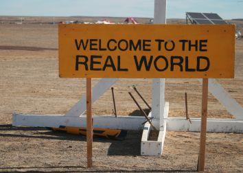 Welcome to Tankwa Town, home of Afrikaburn