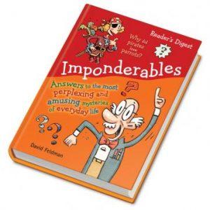 Imponderables by David Feldman